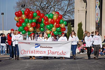 Volunteer - Dominion Energy Christmas Parade
